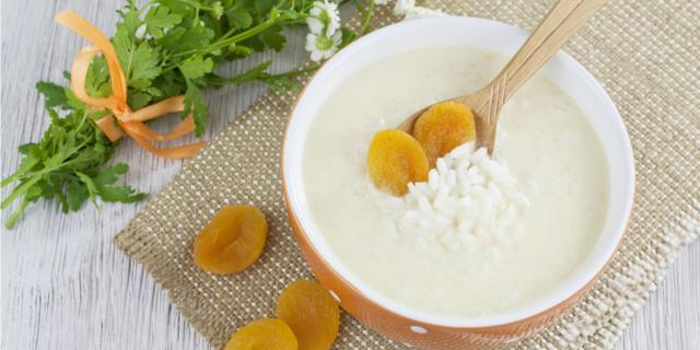 Crema di riso e albicocca
