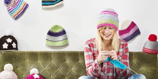 Lavorare a maglia per mantenere il cervello giovane