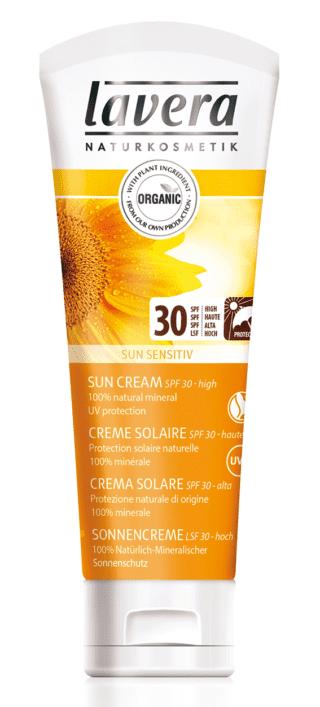 Crema solare 30, Lavera