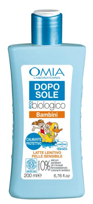 EcoBio Sun Bambini Doposole lenitivo idratante viso corpo