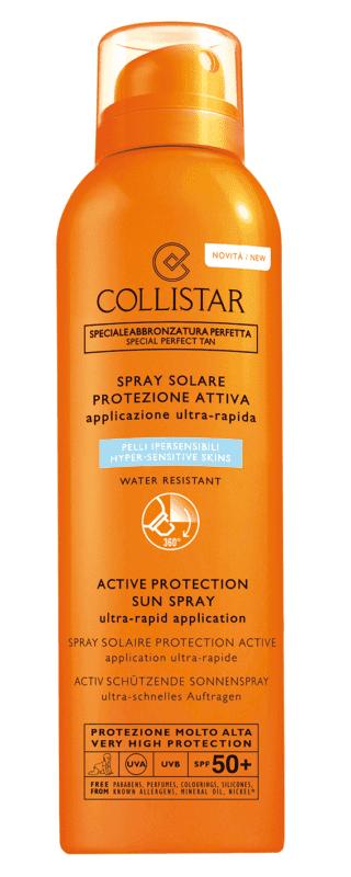 Spray Solare Protezione  Attiva Pelli Ipersensibili 50+, Collistar