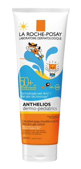 Anthelios Dermo-Pediatrics Lozione Gel Pelle Bagnata 50+, La Roche-Posay