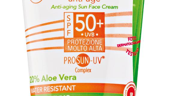 Crema Solare Viso Aloe 50+, Equilibra