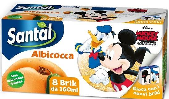 Succo di frutta Disney, Santal