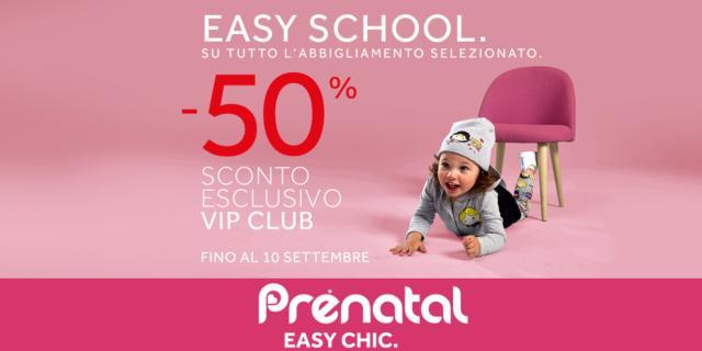 Easy School: con Prénatal la scuola è facile e scontata