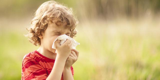 Allergia nei bambini in aumento: sotto accusa lo smog
