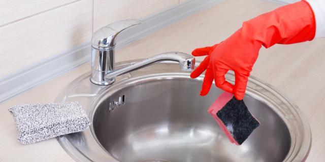 Spugnette da cucina: un covo di batteri