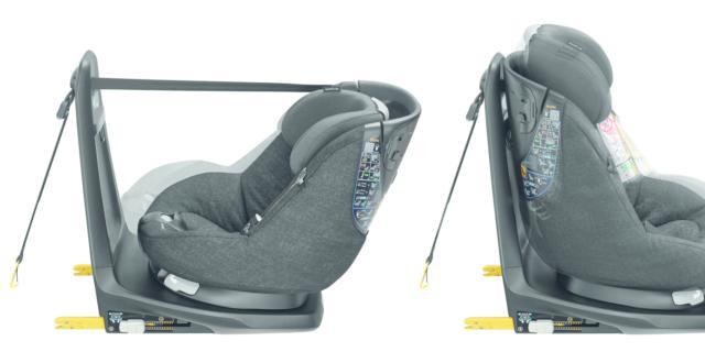 Sicurezza in auto: nasce AxissFix Air, primo seggiolino con airbag