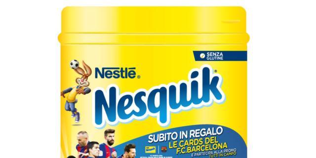 Nesquik Fc Barcelona, Nestlè