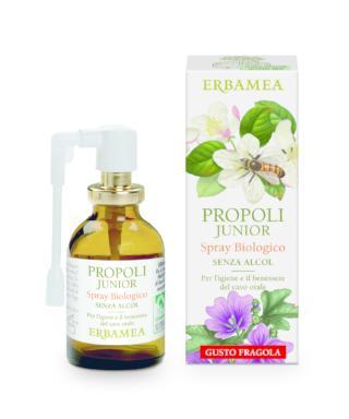 Propoli Junior Spray biologico senza alcol, Erbamea
