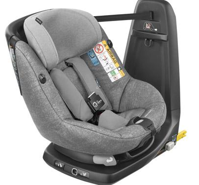 bebeconfort carseat toddlercarseat axissfixair  grey nomadgrey 3qrt group1 toddler isofix isize