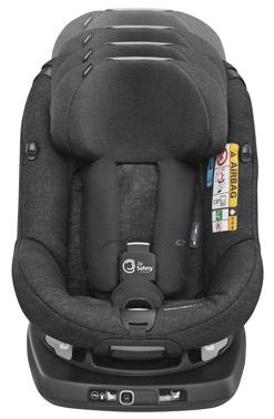 bebeconfort carseat toddlercarseat axissfixair  black nomadblack growswiththechild front group1 toddler isofix isize