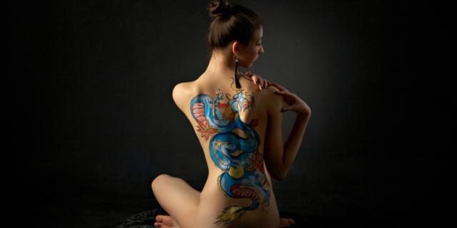 Tatuaggi: i colori arrivano ai linfonodi