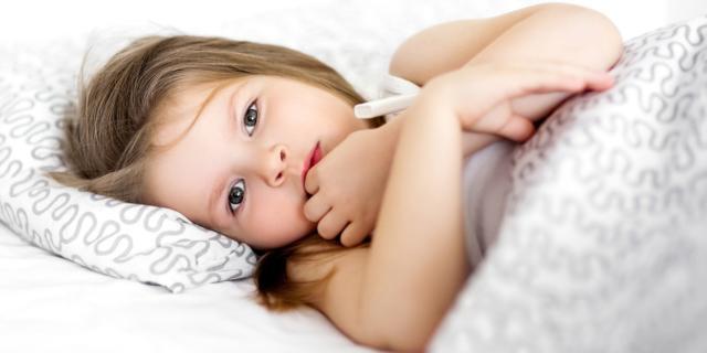 Febbre nei bambini: fa paura a molte mamme