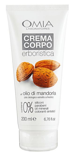 Crema Corpo EcoBiologico all'olio di mandorla, Ômia Laboratoires