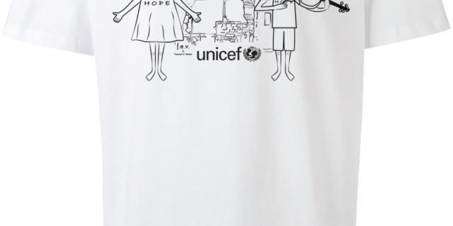 T-shirt Unicef di Versace, Privalia