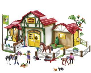 Grande maneggio, Playmobil