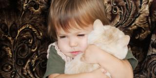 Gatti in casa contro l'asma dei bambini