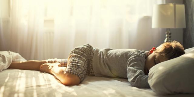 Pipì a letto per 2 bambini su 10