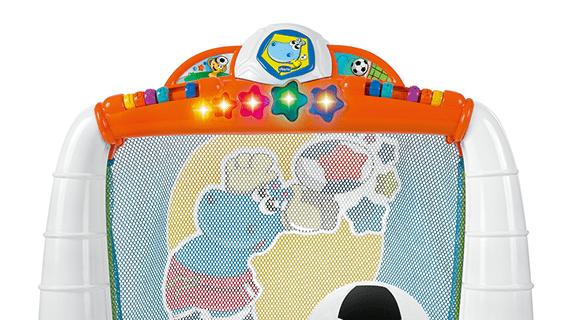 Porta calcio goal league, Chicco