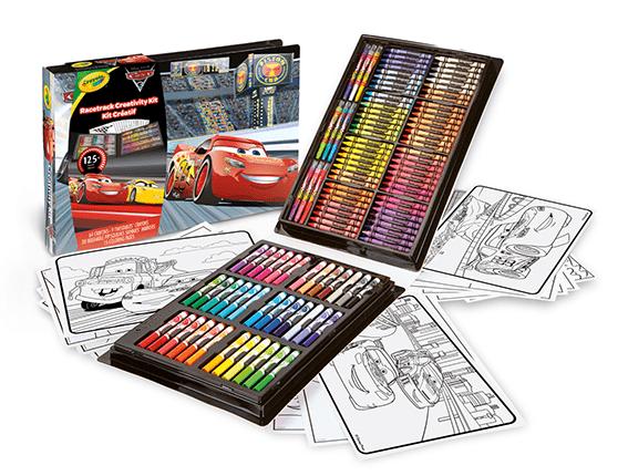 La Valigetta dell'artista Cars3, Crayola