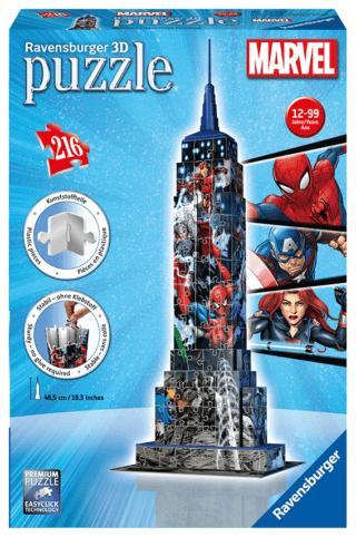Puzzle 3D Empire State Building, Ravensburger