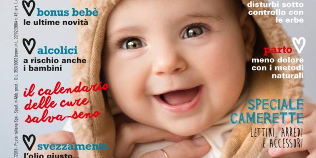 In edicola dal 10 Gennaio il nuovo numero di Bimbisani & belli di Febbraio