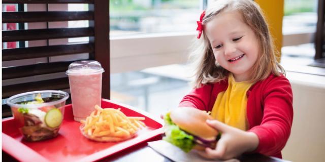 Take away: meglio poco per i bambini