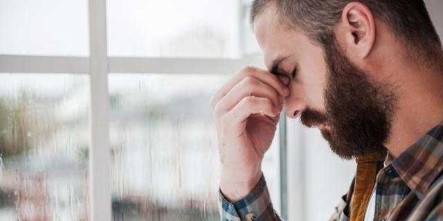 Papà depresso: figli a rischio