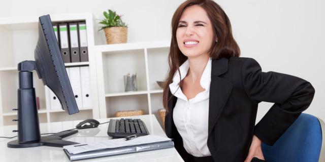 Dolori da ufficio per 8 impiegati su 10