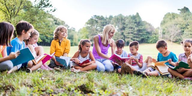 Lezioni all'aperto: si impara di più