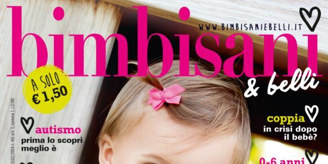 In edicola dal 10 Aprile il nuovo numero di Bimbisani & belli di Maggio