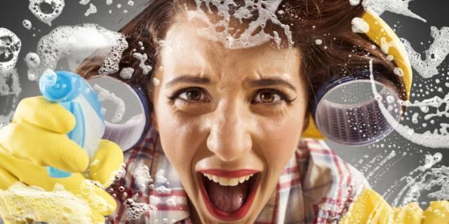 Pulizie domestiche: i detergenti per la casa danneggiano i polmoni