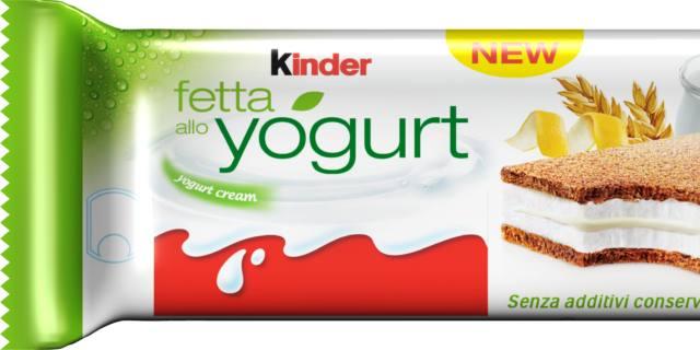 Kinder Fetta allo Yogurt, Ferrero