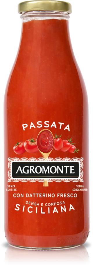 Passata di pomodoro e datterino, Agromonte