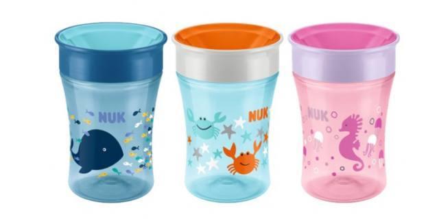 Nuk Magic Cup, la tazza che rende il bere magico