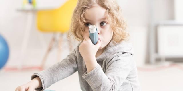 Asma nei bambini: nel 50% dei casi è fuori controllo
