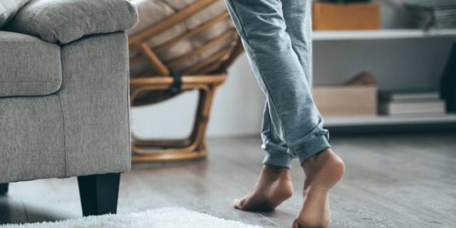 Per dimagrire… togli le scarpe