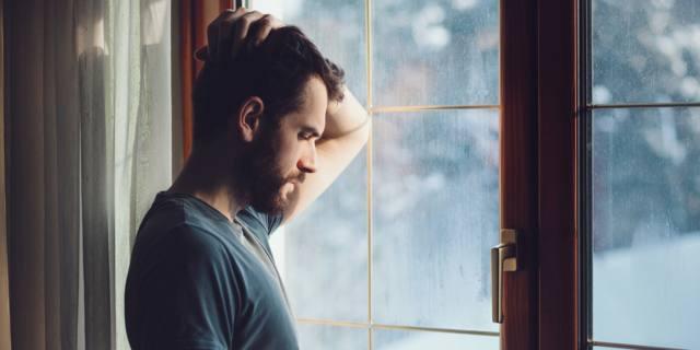 La depressione maschile riduce le possibilità di concepimento