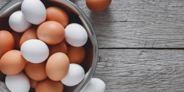 Uova assolte: non fanno male!