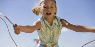 Tallonite nei bambini: attenzione ai salti!