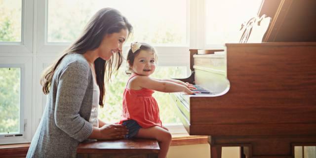 Lezioni di pianoforte migliorano il linguaggio nei bambini