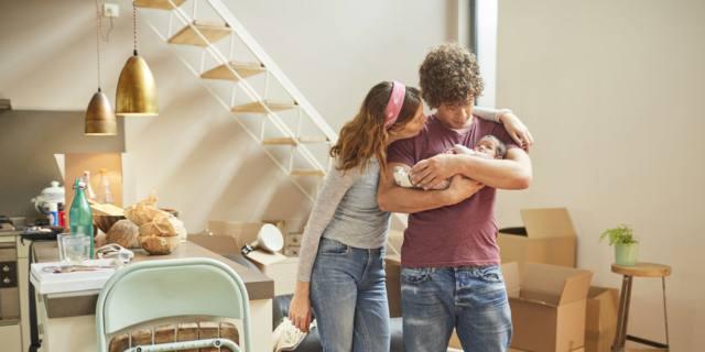 Nascita di un figlio: come cambia la casa?