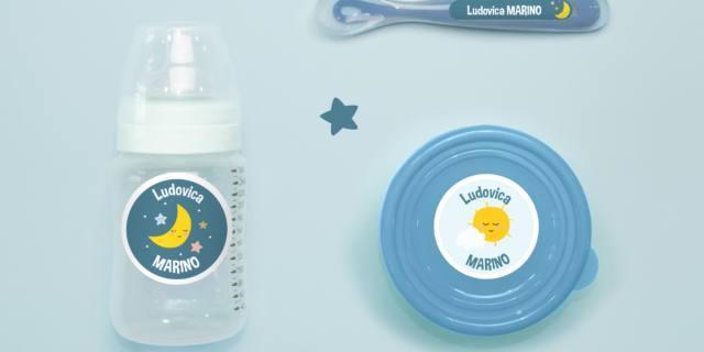 Compra un prodotto per bebè e in regalo arrivano le etichette