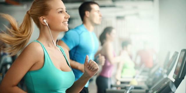 Musica durante l'allenamento = meno fatica