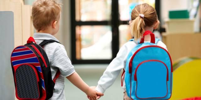 Mal di schiena nei bambini: scagionati gli zaini