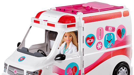 La clinica di primo soccorso di Barbie, Mattel