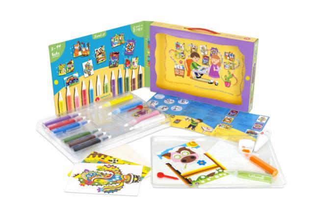 "Maxi kit ""Color & Shine"", Sabbiarelli"
