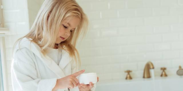Maschere beauty a 3 anni: pelle a rischio