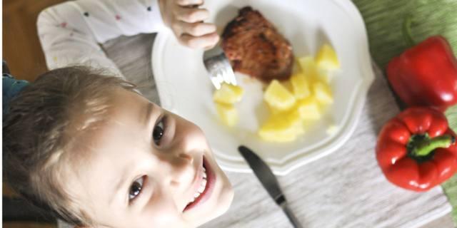 Contro l'obesità infantile il kit per porzioni a misura di bimbo